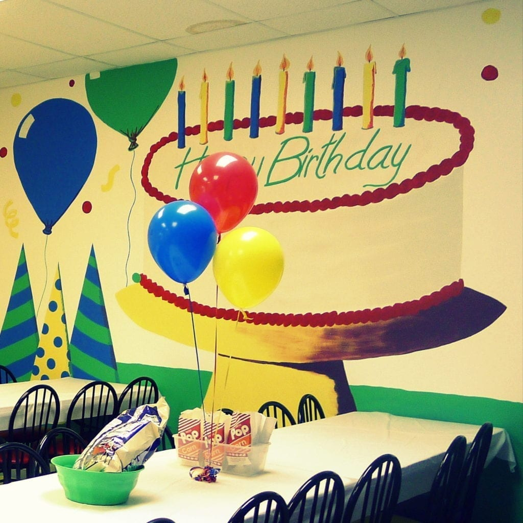 BIRTHDAY PARTIES AT BELLA'S bouncies
