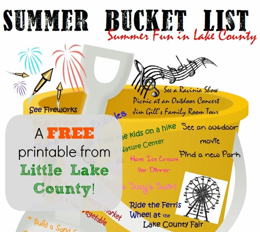 Summer Bucket List for Lake County Families