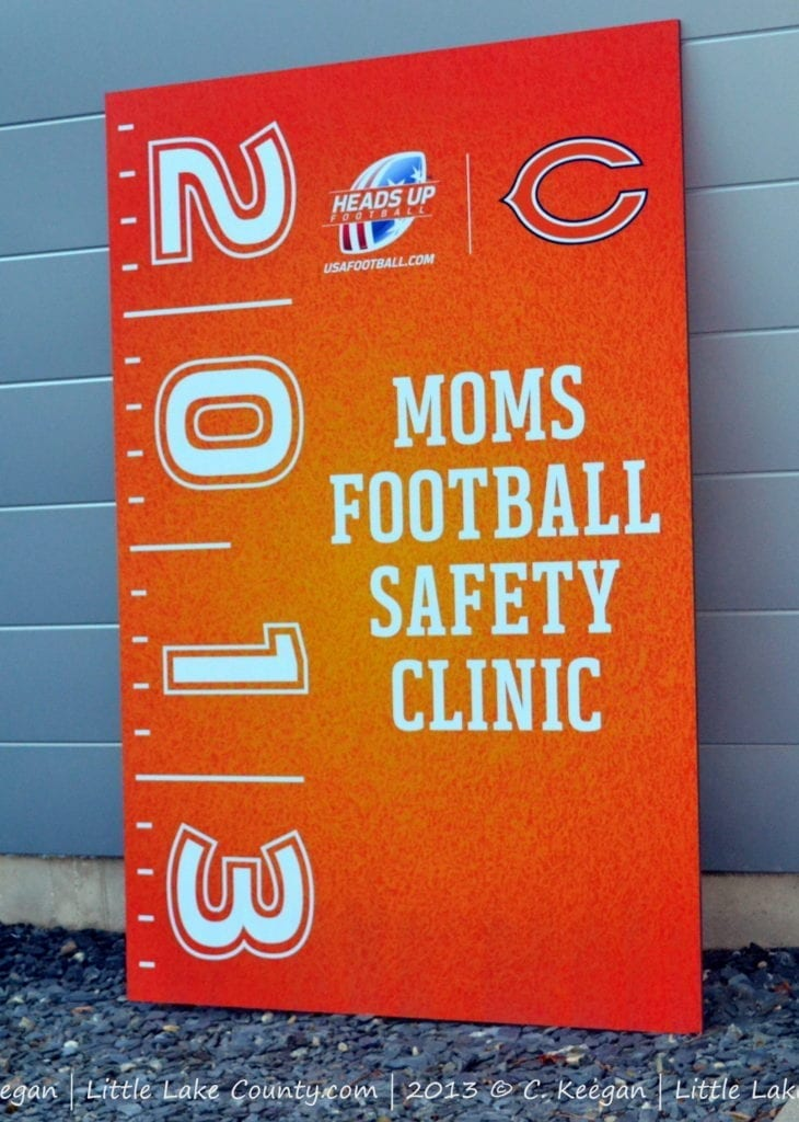 Chicago Bears Mom Football Safety Clinic