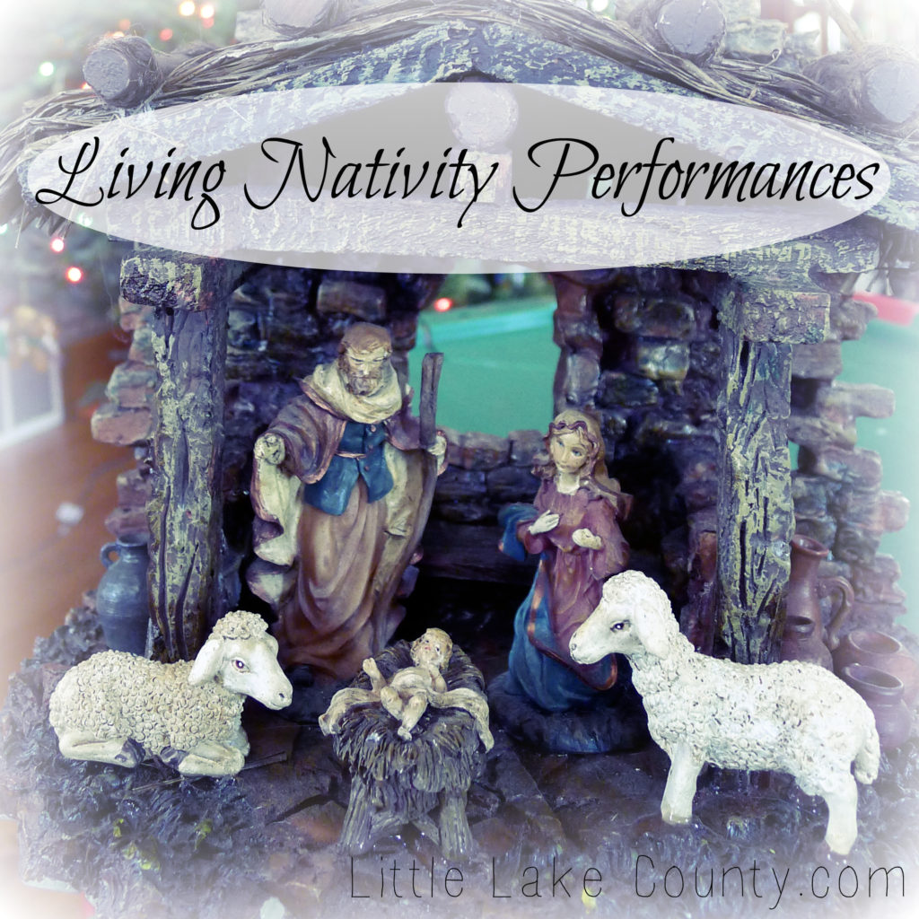 Living Nativity Performances in Lake County