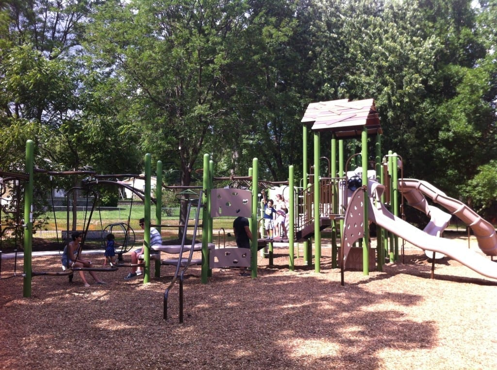 Central Park playground grayslake