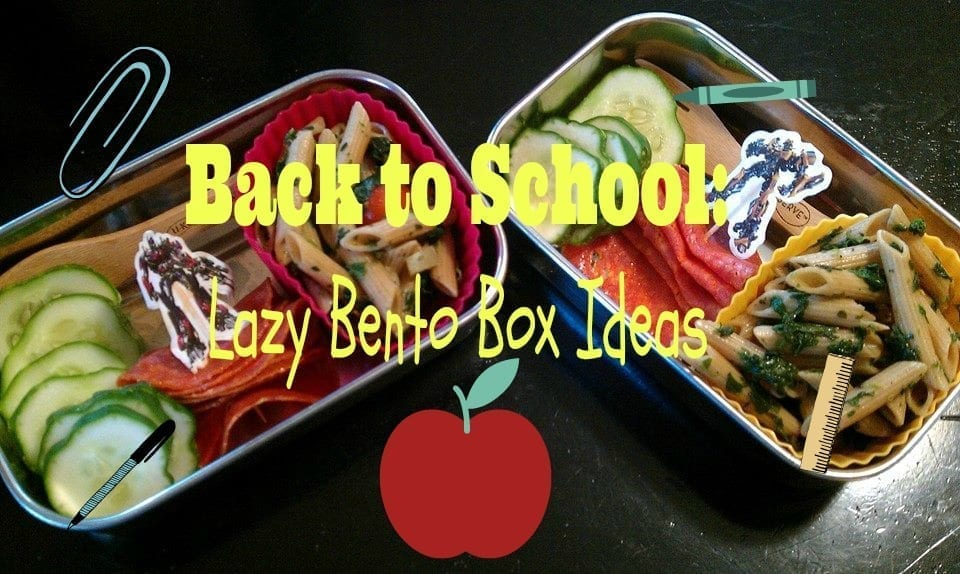 Back to School: Lazy Bento Box Ideas | Little Lake County