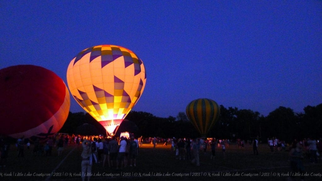 Color Aloft Balloon Glow
