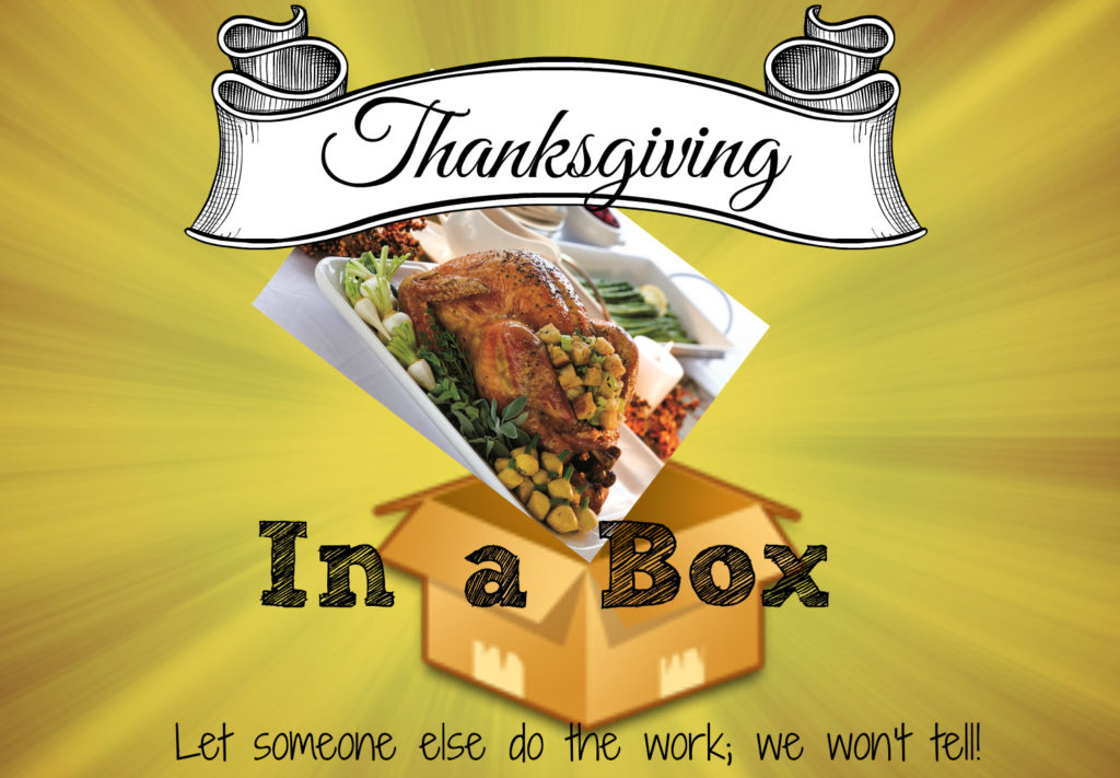 thanksgiving dinner in a box