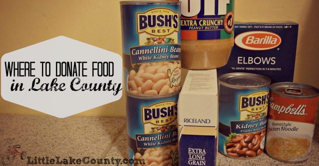 Where to donate food in lake county
