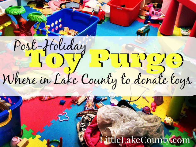 Where to donate toys in Lake county