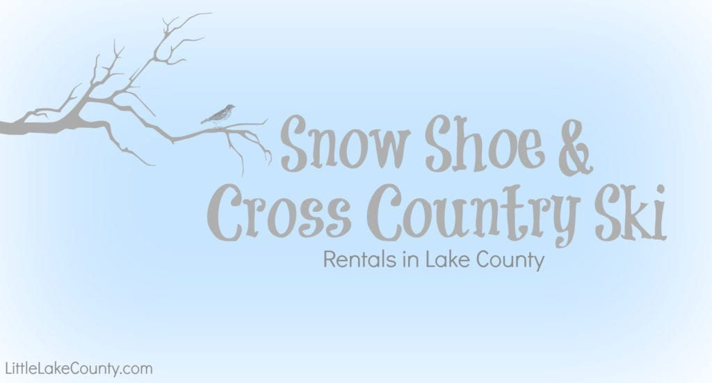 Snowshoe Rentals in Lake County