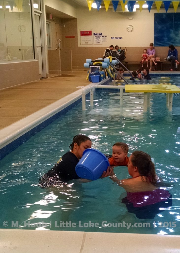 Baby Swimm Lessons at Foss