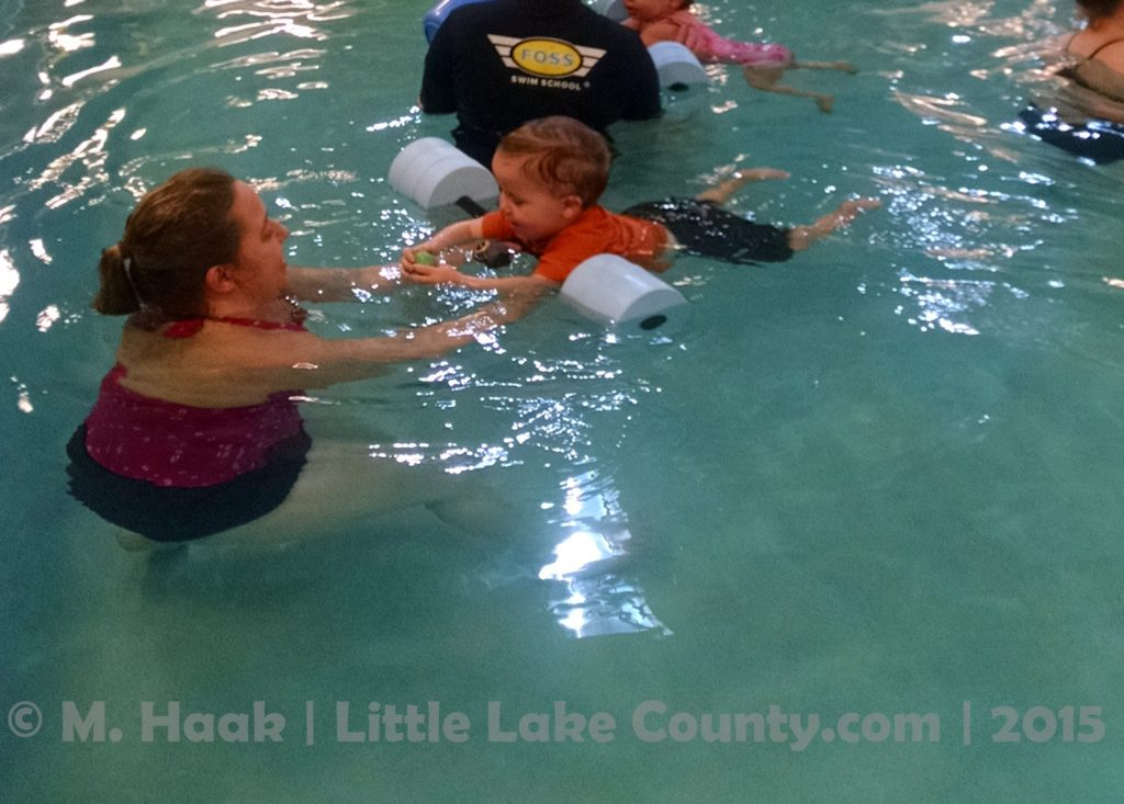 baby swim lessons at Foss