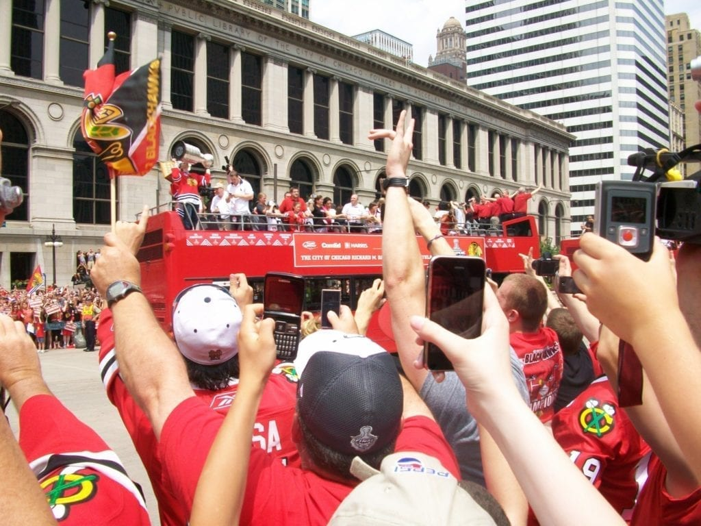 SuburbStanley Cup Parade Chicago