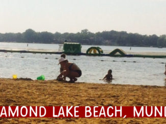 diamond lake beach, mundelein