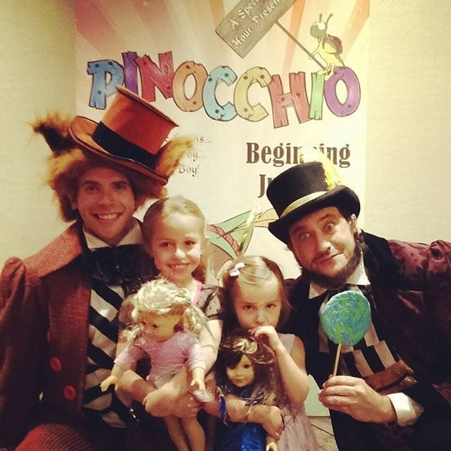 pinocchio at the marriott