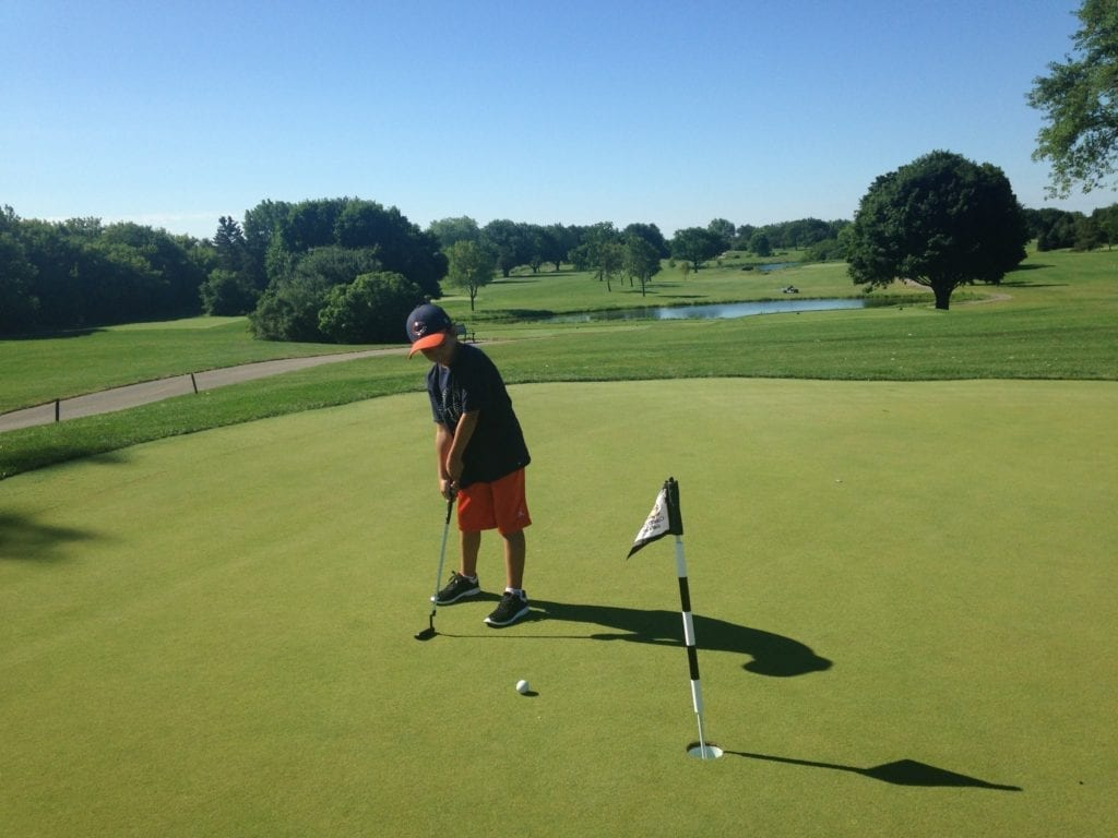 kids golf free in lake county