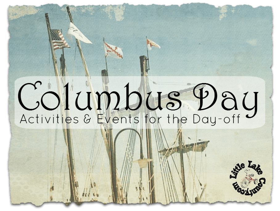 columbus day events lake county