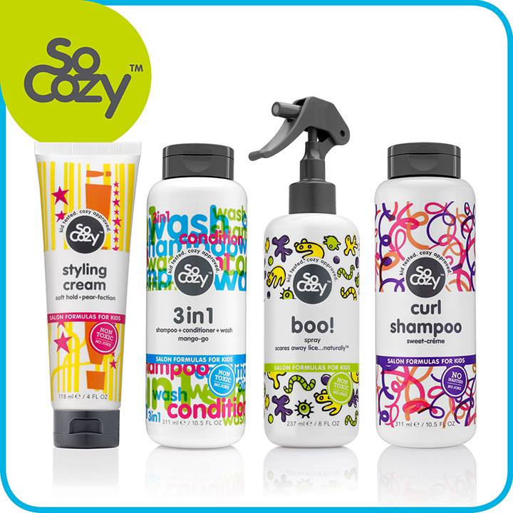 SoCozy hair products ffor kids