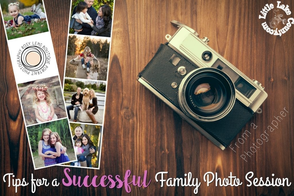 tips for a successful family photo session
