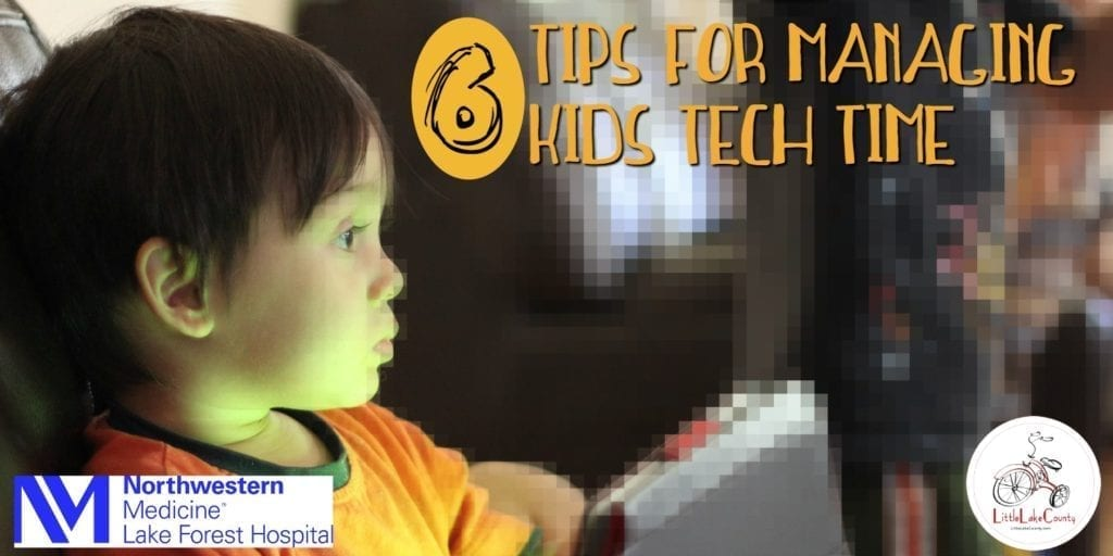 tips for managing kids tech