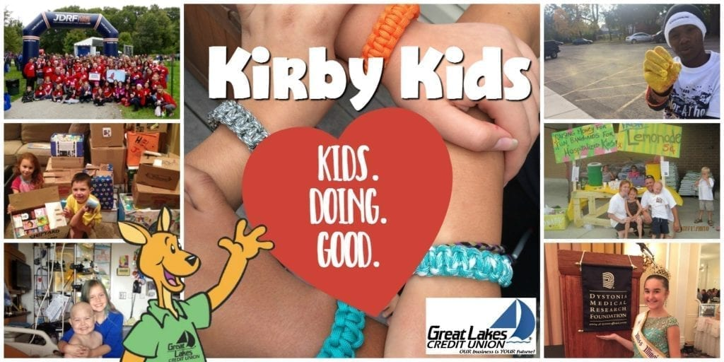 Kirby Kids Great Lakes Credit Union