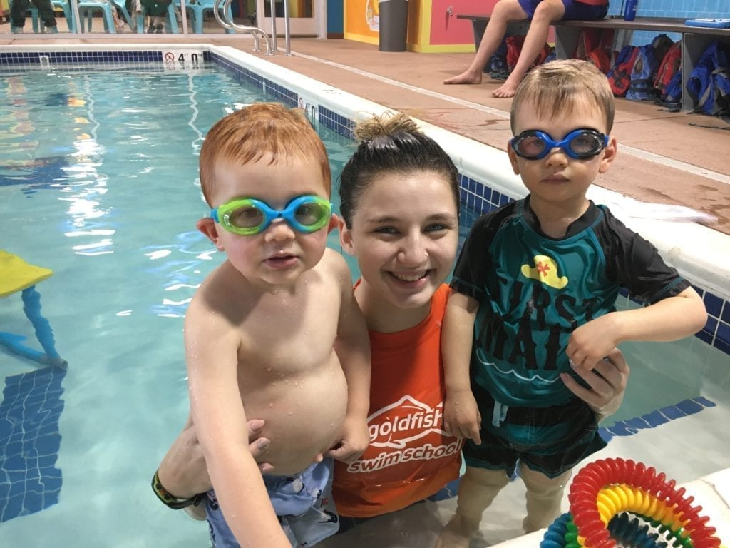 goldfish swim school experience