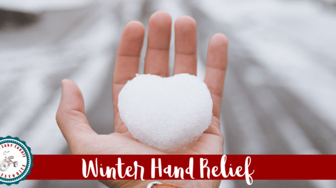winter hand relief, products for dry cracked hands