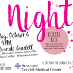 Glam Night for Breast Health – October 6, 2017