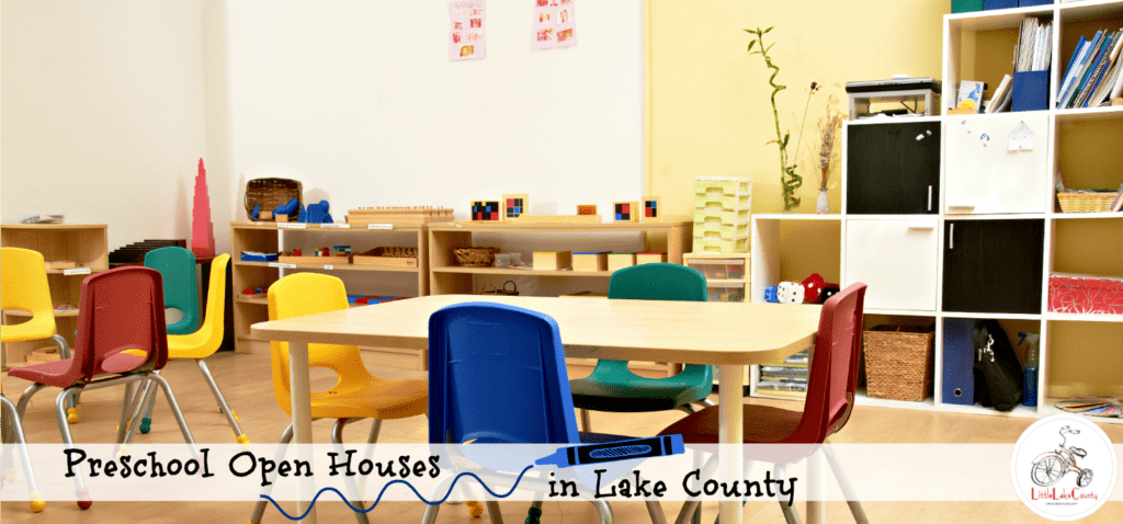 preschool open houses
