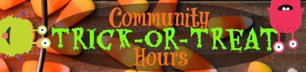 lake county trick or treat hours