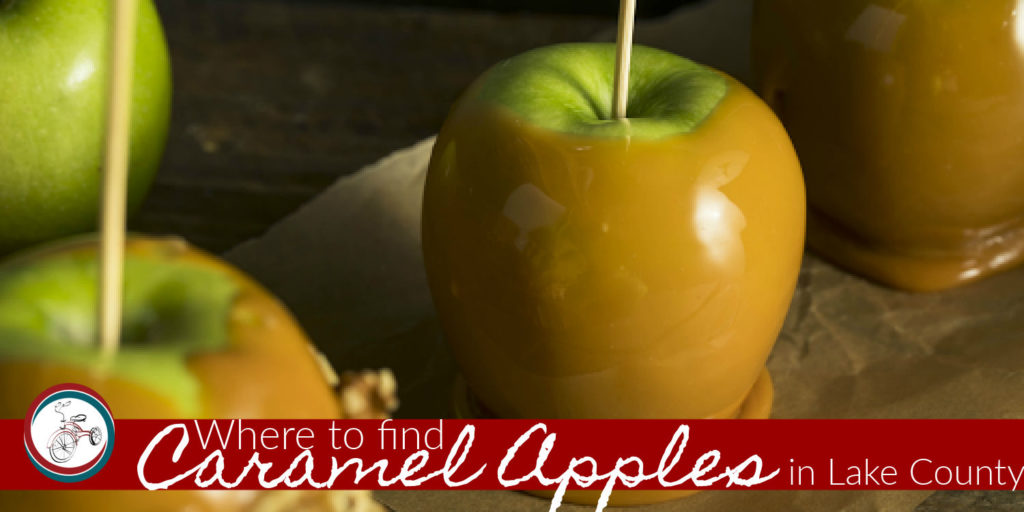 homemade caramel apples in lake county