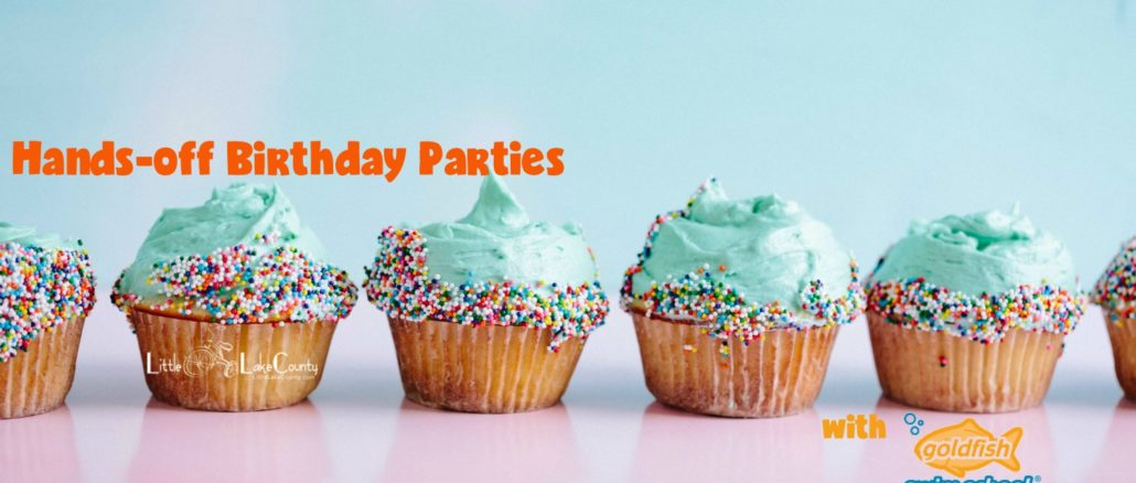 goldfish swim school birthday parties