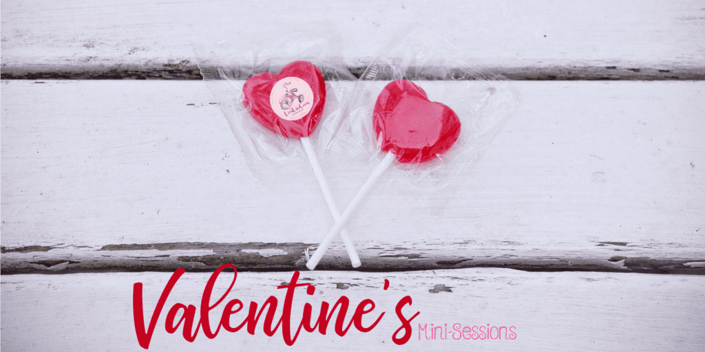 valentine's mini sessions