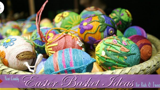 non-candy easter backet ideas