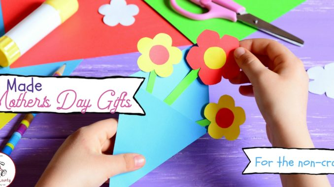 kids made mothers day crafts 2018 for non-crafty