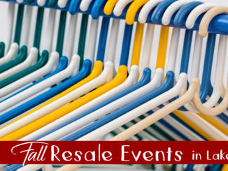 fall resale event sin lake county