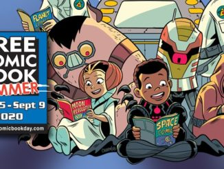 Free comic book day 2020