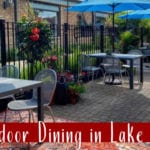 Outdoor Dining in Lake County