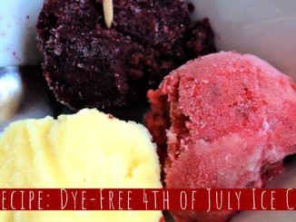 dye-free fourth of july ice cream